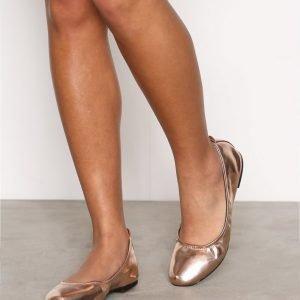 New Look Ballet Pumps Ballerinat Rose Gold