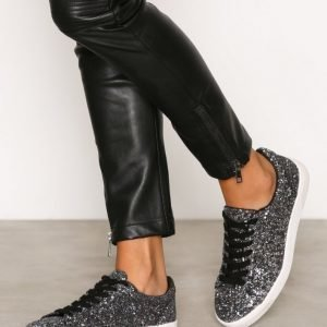 New Look Glitter All Over Trainer Tennarit Black