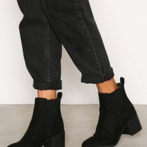 New Look Suedette Ankle Boots Bootsit Black