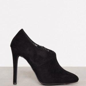 New Look Suedette Seam Side Boot Bootsit Black