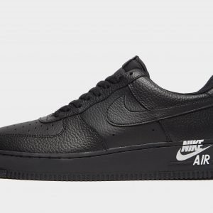 Nike Air Force 1 Logo Musta