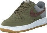 Nike Air Force 1 Mdm Olv/Trck Brwn-Cl Gry-White