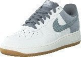 Nike Air Force 1 Smmt Wht/Cl Gry-Wlf Gry-Gm Lgh