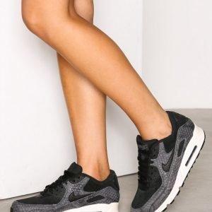 Nike Air Max 90 Premium Tennarit Musta / Harmaa