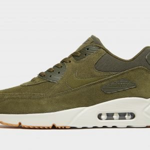 Nike Air Max 90 Ultra Suede Olive / White / Gum