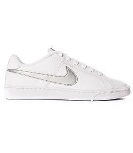 Nike Court Royale White/Metallic Silver