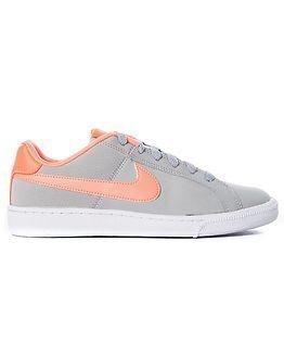 Nike Court Royale Wolf Grey/Bright Mango-White