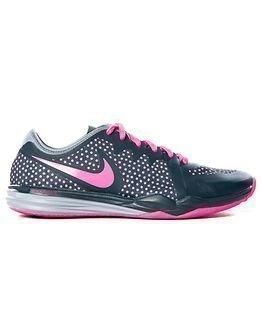 Nike Dual Fusion Print Charcoal Pink
