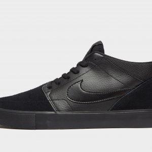 Nike Sb Solarsoft Portmore Mid Musta