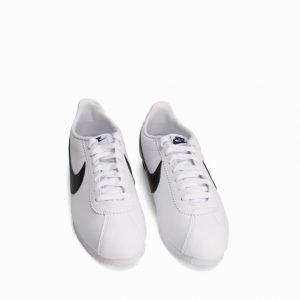 Nike Sportswear Classic Cortez Leather Tennarit Musta/Valkoinen