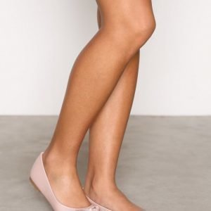 Nly Shoes Ballerina Ballerinat Dusty Pink