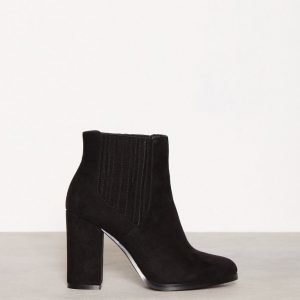 Nly Shoes Block Boot Bootsit Musta