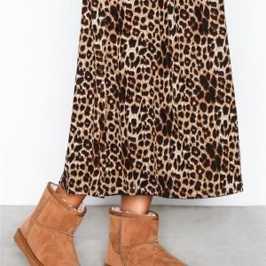 Nly Shoes Boots Bootsit Ruskea