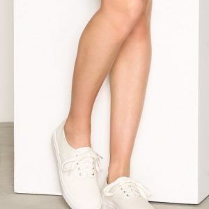 Nly Shoes Canvas Sneaker Tennarit Valkoinen