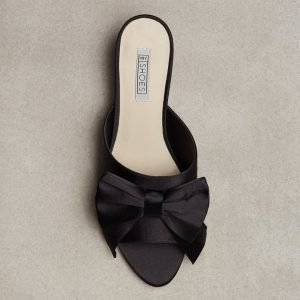 Nly Shoes Decorated Slip Mule Pistokkaat Musta