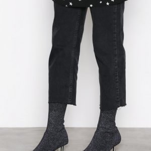 Nly Shoes Glitter Boot Bootsit Violetti