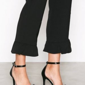 Nly Shoes Glitter Bow Pump Korkokengät Musta