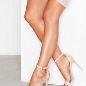 Nly Shoes High Heel Sandal Sandaalit Beige