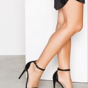 Nly Shoes High Heel Sandal Sandaalit Musta