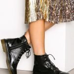 Nly Shoes High Top Boot Kiiltonahkakengät Musta