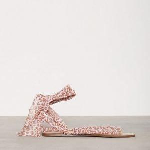 Nly Shoes Lace Sandal Sandaalit Leo