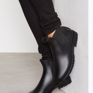 Nly Shoes Low Chelsea Rain Boot Kumisaappaat Musta