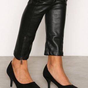 Nly Shoes Mid Heel Pump Korkokengät Musta