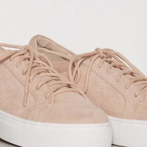 Nly Shoes Platform Sneaker Tennarit Dusty Pink