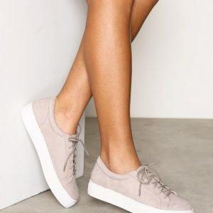 Nly Shoes Platform Sneaker Tennarit Light Grey