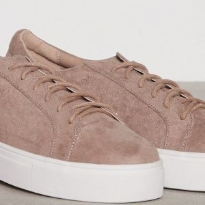 Nly Shoes Platform Sneaker Tennarit Mauve