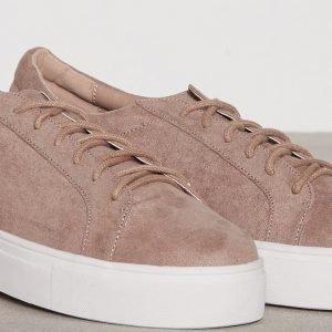 Nly Shoes Platform Sneaker Tennarit Mauve