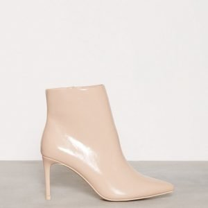 Nly Shoes Pointy Boot Bootsit Beige