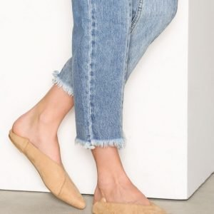 Nly Shoes Pointy Flat Ballerinat Beige