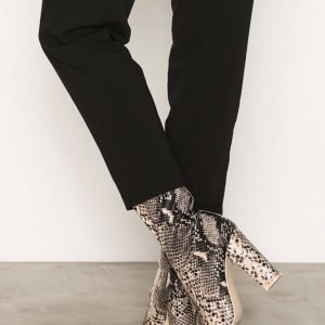 Nly Shoes Pointy Stretchy Boot Bootsit Snake