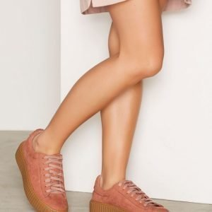 Nly Shoes Rubber Sole Sneaker Tennarit Pink Brandy