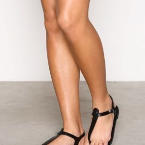 Nly Shoes Simple Sandal Sandaalit Musta