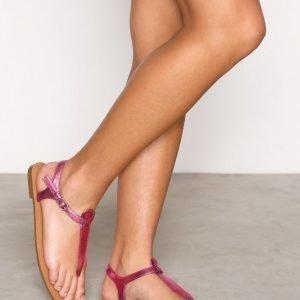 Nly Shoes Simple Sandal Sandaalit Vaaleanpunainen