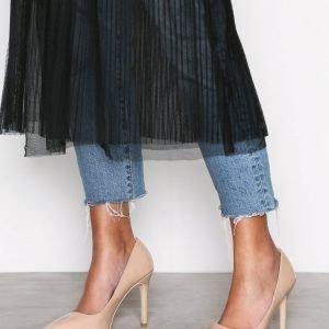 Nly Shoes Slim Pump Korkokengät Beige