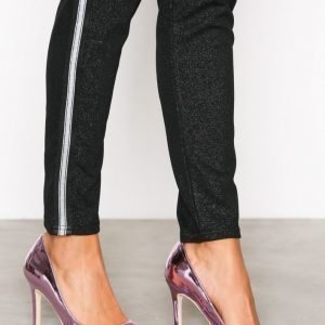 Nly Shoes Slim Pump Korkokengät Metallic Pink