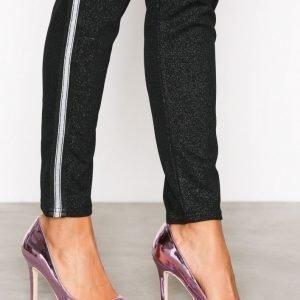 Nly Shoes Slim Pump Korkokengät Metallic Pink