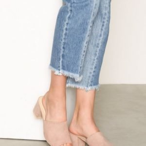 Nly Shoes Slip Heel Sandal Sandaletit Dusty Pink