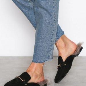 Nly Shoes Slip Loafer Loaferit Musta