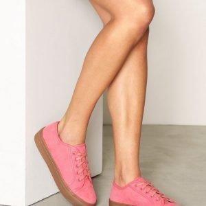 Nly Shoes Sneaker Platform Tennarit Vaaleanpunainen