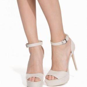 Nly Shoes Stiletto Platform Sandal Sandaalit Hiekka
