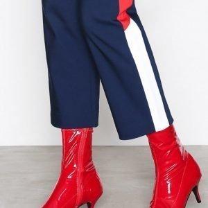 Nly Shoes Stretchy Boot Korkokengät Punainen
