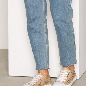 Nly Shoes Stud Sneaker Tennarit Beige