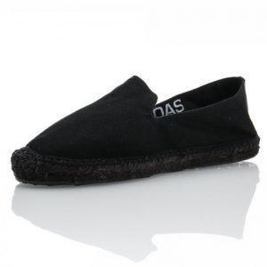Oas Black On Black Sandaalit Musta