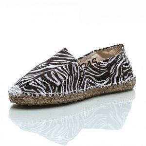 Oas Leopard Sandaalit Musta / Valkoinen