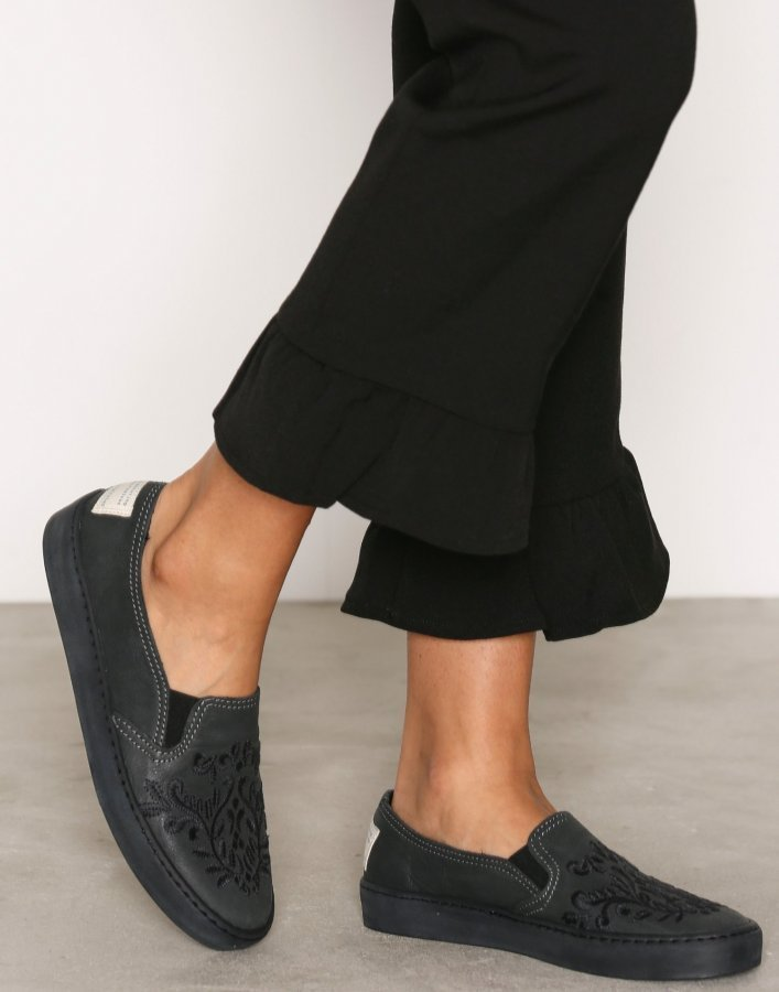 Odd Molly All Mine Slip-In Sneakers Slip-On Kengät Asphalt