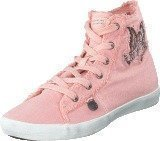 Odd Molly Butterfly High Sneaker Milky Pink